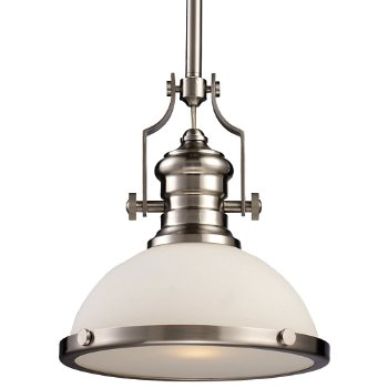 Chadwick Pendant with Glass Shade
