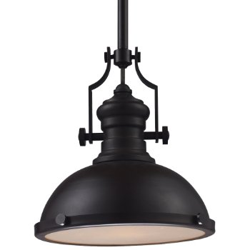Chadwick Pendant with Metal Shade
