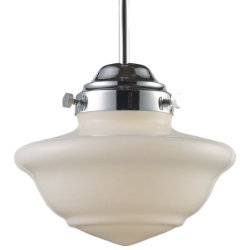 Schoolhouse Pendant 69022-69032 by Landmark Lighting