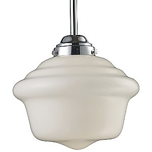Schoolhouse Pendant 69020-69030 by Landmark Lighting