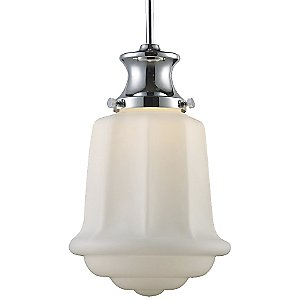 Schoolhouse Pendant 69023-69033 by Landmark Lighting