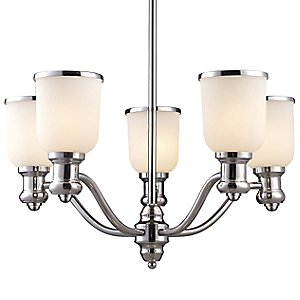 Brooksdale Chandelier by Landmark Lighting
