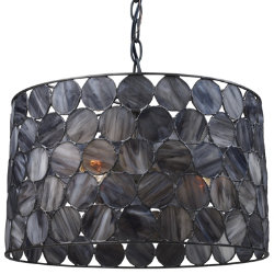 Cirque 72003 Drum Pendant by Landmark Lighting