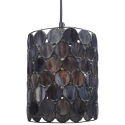 Cirque 72001 Drum Pendant by Landmark Lighting