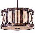 Delgado Drum Pendant by Landmark Lighting