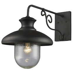 Streetside Cafe 62002 Outdoor Wall Sconce by Elk Lighting