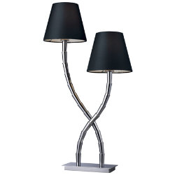 Park Avenue 2-Light Table Lamp by Dimond