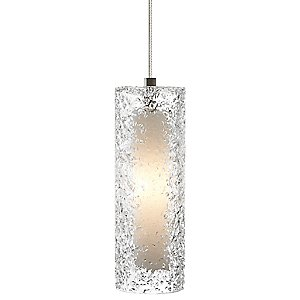 Mini-Rock Candy Cylinder Pendant by LBL Lighting