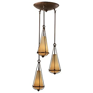 Two-if-by-sea Multi-Light Pendant by Varaluz