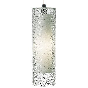 Rock Candy Cylinder Pendant by LBL Lighting