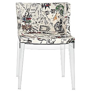 Mademoiselle Chair Moschino Sketches by Kartell