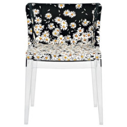Mademoiselle Chair Moschino Daisies by Kartell