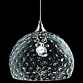 Derby S 35 Clear Pendant by Aureliano Toso