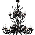 Belzebu L18 Chandelier by Gallery Vetri d