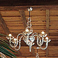 Danieli L 6 Chandelier by Gallery Vetri d