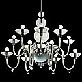 Danieli L 12 Chandelier by Gallery Vetri d