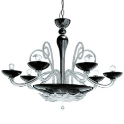 Orleans L 12 Chandelier by Gallery Vetri d