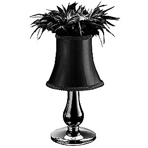 Cheope CO Feathered Table Lamp by Gallery Vetri d