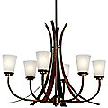 Coburn Oval Chandelier by Kichler