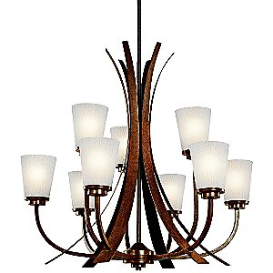 Coburn 2-Tier Chandelier by Kichler