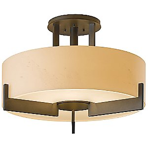 Axis Medium Semi-Flushmount by Hubbardton Forge