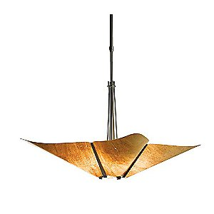 Kirigami 4-Light Adjustable Pendant by Hubbardton Forge