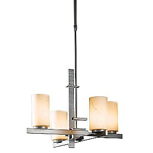 Ondrian Tiered Chandelier by Hubbardton Forge