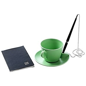Poem Cup and Saucer by Design House Stockholm