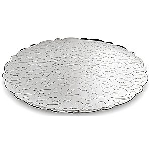 Dressed Round Tray by Alessi