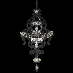 Brocade Chandelier by Schonbek Lighting