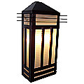 Gatsby Outdoor Wall Sconce by Maxim