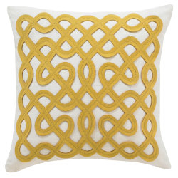 Labyrinth Pillow by DwellStudio