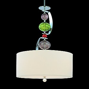 Fizz Drum Pendant by Troy Lighting