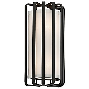 Drum Wall Sconce by Troy Lighting