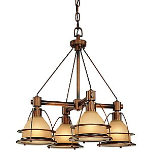 Bristol Bay Chandelier by Troy Lighting