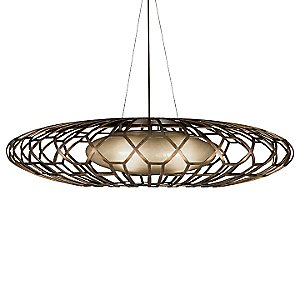Entourage 789040ST Suspension by Fine Art Lamps