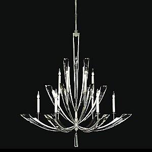 Vol de Cristal 789840ST Chandelier by Fine Art Lamps