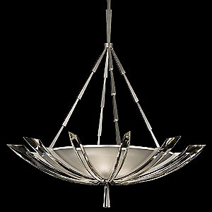 Vol de Cristal 799240ST Bowl Pendant by Fine Art Lamps