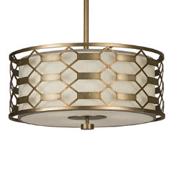 Allegretto 787540 Drum Pendant by Fine Art Lamps