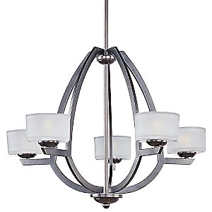 Vortex 5-Light Chandelier by ET2