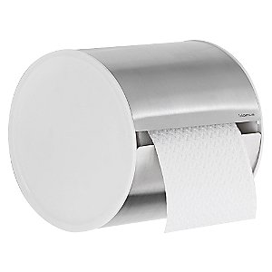 SENTO Closed Toilet Paper Holder by Blomus