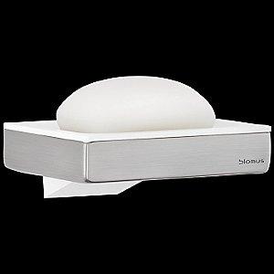 SENTO Wall Mounted Soap Dish by Blomus