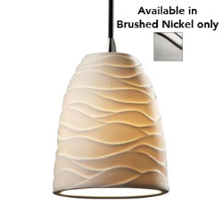 Limoges Mini Tapered Pendant by Justice Design Group - OPEN BOX RETURN