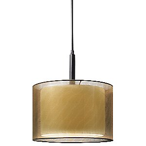 Puri 6008 Drum Pendant by Sonneman