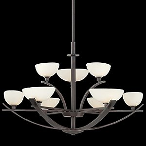 Galante 2-Tier Chandelier by Minka-Lavery