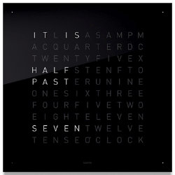 QLOCKTWO Wall Clock by Biegert & Funk