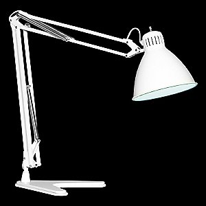 Arki Tek Task Lamp with Base by Luxit