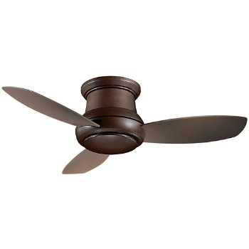Concept II Flush 44 Ceiling Fan (Bronze/Taupe) - OPEN BOX