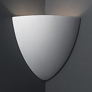 Teardrop Corner Sconce by Justice Design