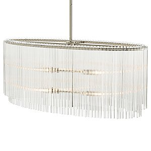 Royalton Oval Suspension by Arteriors